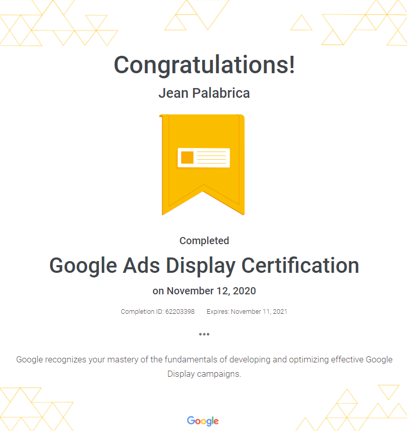Jean Diaz Palabrica : The Certified Digital Marketer in Davao City, Philippines 2