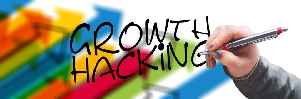 arrows, growth hacking, hand