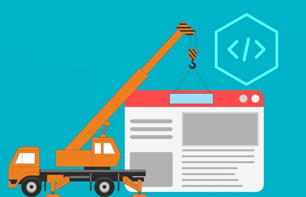 website, design, code